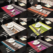1 шт. ПВХ прямоугольные салфетки изоляция кухонные Салфетки сервировочные коврики столовая