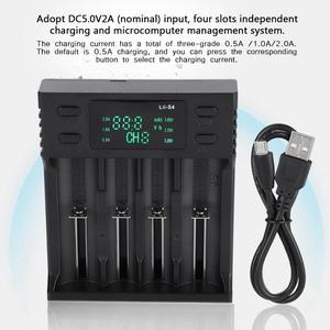 Image 2 - Зарядное устройство LiitoKala 5 В, 2 а постоянного тока, 4 слота, с дисплеем