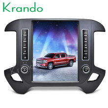 "Krando Android 8.1 12.1"" Tesla style Vertical car radio navigation player For Chevrolet Silverado and GMC Sierra 2014-2018(China)"