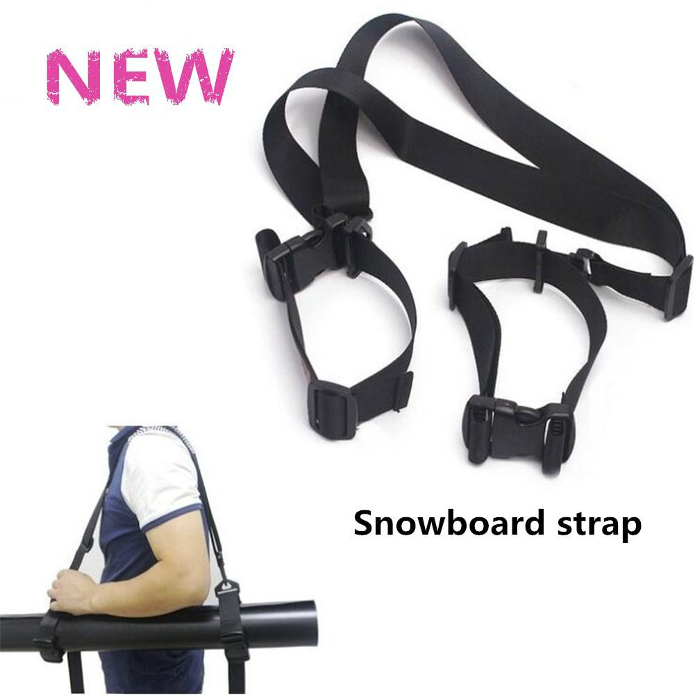Mounchain Portable Ski Strap Skiing Snowboard Snow Detachable Bundling Belt Backpack Snow Board Ski Holder Carrier Strap