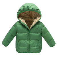 BibiCola baby clothes Boys Winter Coats Outerwear Fashion Hooded Parkas Jackets Thicken Warm Outer Clothing High Quality