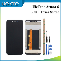 UleFone Armor 6 LCD Display + Touch Screen Screen Digitizer Assembly Replacement For UleFone Armor 6 + Tools + Adhesive