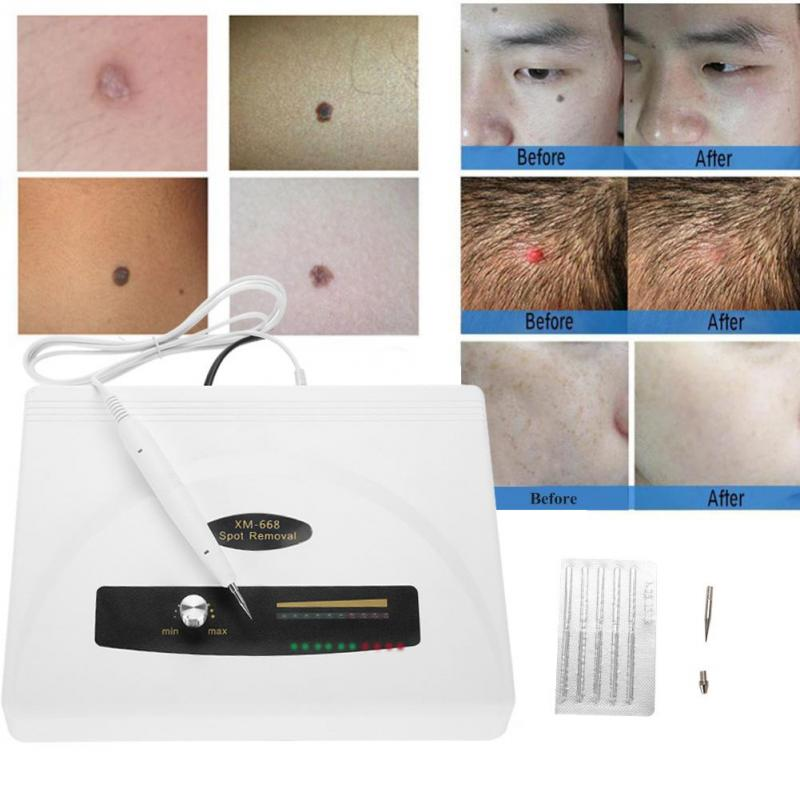 Ultrasonic Spot Removal Pen Large Power Freckle Tattoo Mole Removal Plasma Wart Remover Pen Home Spa