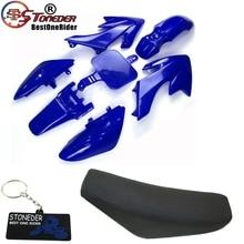 Kit de carenado de chasis de plástico STONEDER, asiento de espuma alto para Honda CRF50 XR50, Motor de tierra Trail, 50cc, 160cc, Thumpstar, Lifan YX DHZ