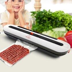 Электрический вакуумный упаковщик упаковочная машина для дома кухня в том числе 10 шт. еда Saver сумки коммерческих вакуум еда запайки