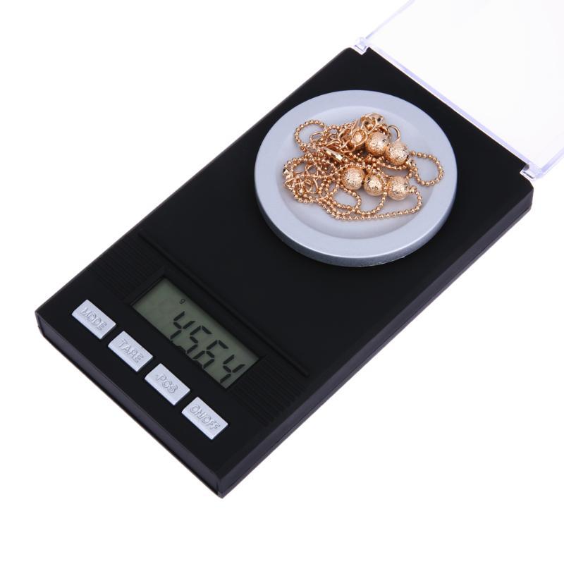 Portable Mini Digital Scale LCD Electronic Capacity Balance Diamond Jewelry High Precision Pocket Scale 20g/0.001g 50g/0.001g