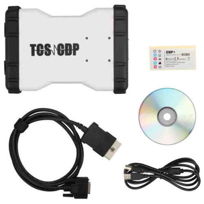 1 ensemble le plus récent 2014.02 TCS CDP PRO + OBD2 Auto Diagnostic Scanner outil voiture camion générique
