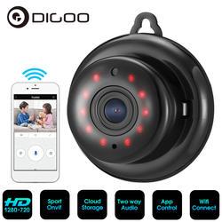 Digoo DG-MYQ HD 720 P беспроводной Wi Fi ночное видение умный дом безопасности IP камера Onvif мониторы радионяни облако хранения