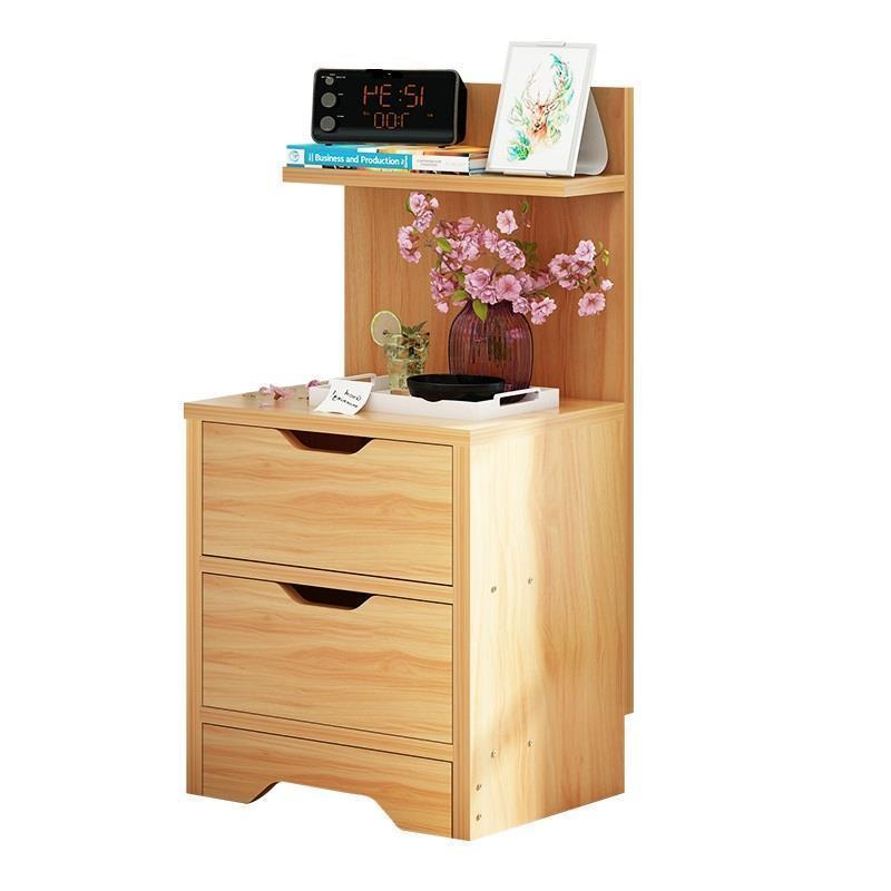 Nightstands Forceful Legno Mesita Noche Slaapkamer Korean Side European Wooden Quarto Bedroom Furniture Cabinet Mueble De Dormitorio Bedside Table Bedroom Furniture