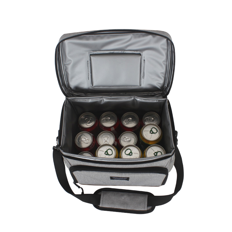 Insulation Ice Lunch Bag Folding Thermal Cooler Tote Waterproof Picnic Drink Food Beer Fresh Keeping Dinners Hangbag Accessories