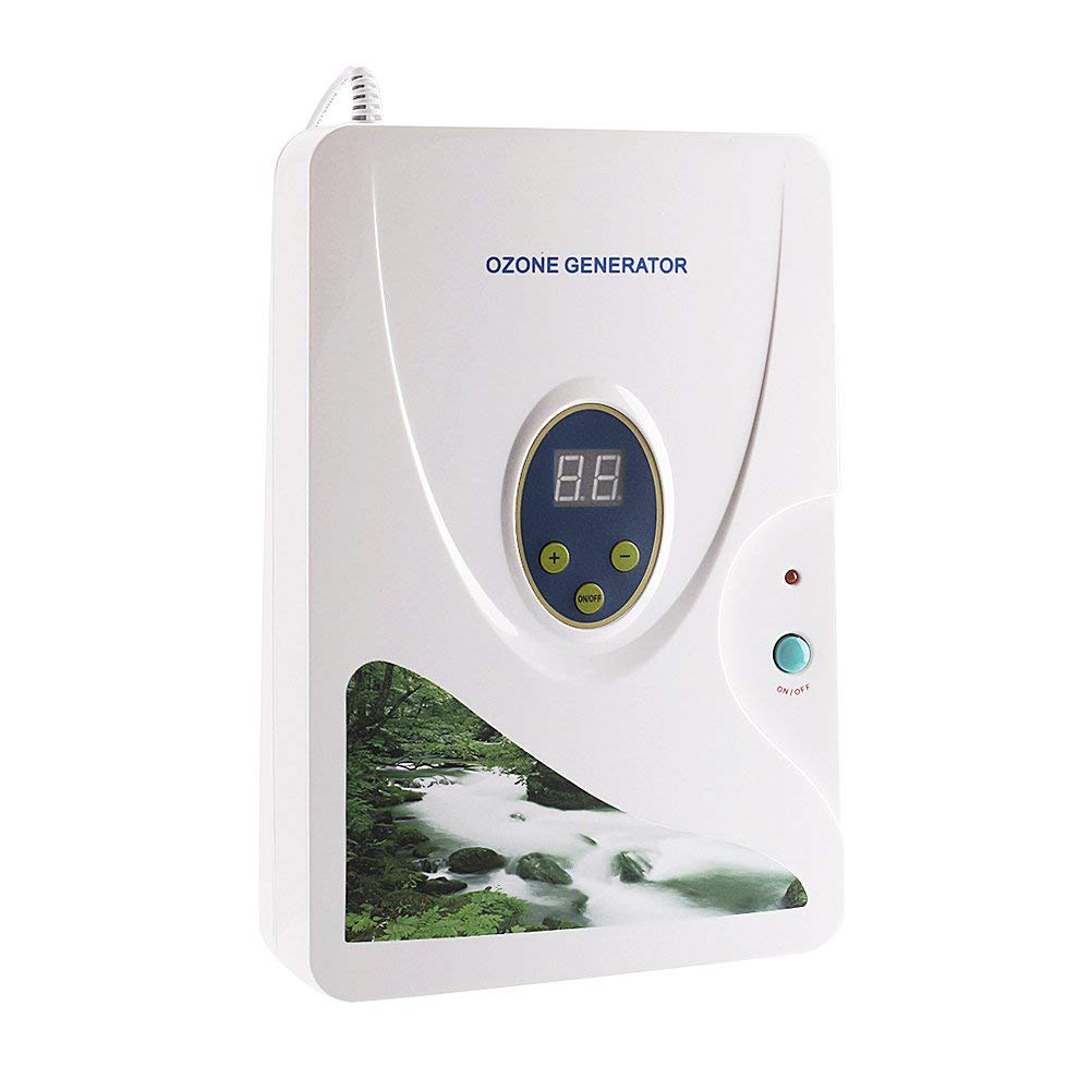 Logisch Eu Plug 600 Mg/u Hydrocultuur Zoetwater De Vlees Groenten Digitale Machines Ozon Generator Ozon Ontgifting Van Fruit (w