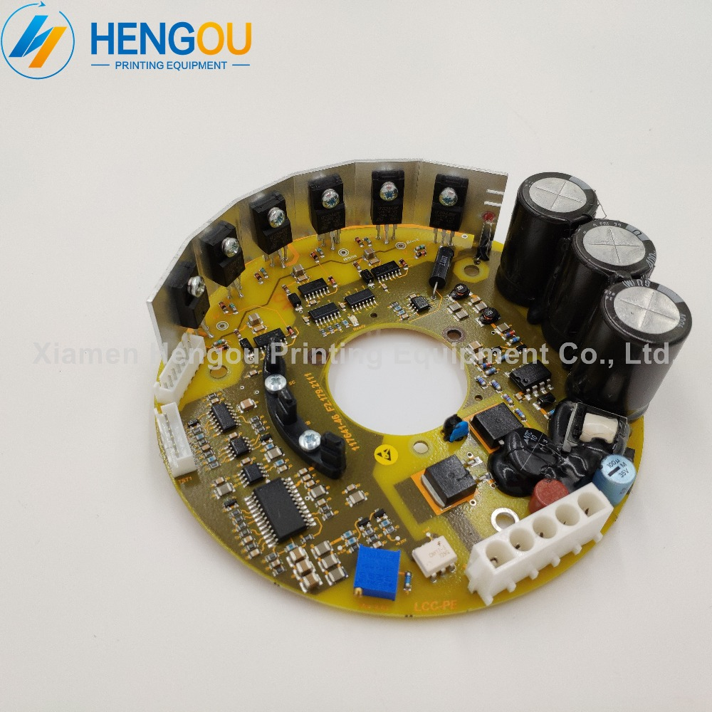 1 Piece DHL free shipping F2.179.2111 Heidelberg SM102 PM74 SM74 SM52 Blower Inside Board цены онлайн