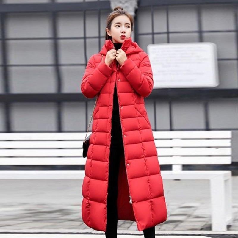 a7e24c6472fc Las-mujeres-chaqueta-de-invierno-con-capucha-de-Cuello-de-piel-espesar-abrigo-plus-tama-o.jpeg