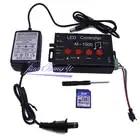 M 1000 Controlador de LED, Programável Levou Controlador de Música 2048 Pixel para WS2812B WS2811 WS2801 SK6812 levou iluminação de tira - 2
