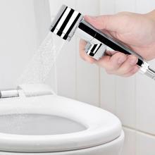 Chromed Handheld Toilet bidet Durable Body Cleaner Flusher Bidet Sprayer For Wash Bathroom Toilets G1/2