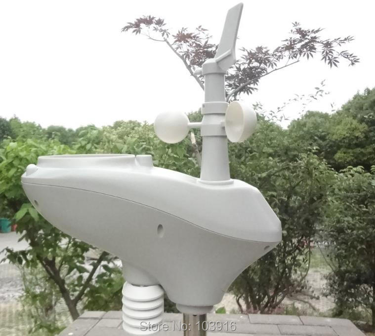 Weather Station with RS485 port, 4 wires cable, with cable length (10 meter)