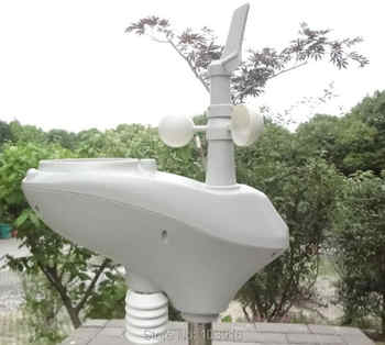 Weather Station with RS485 port, 4 wires cable, with cable length (10 meter) - DISCOUNT ITEM  19% OFF All Category