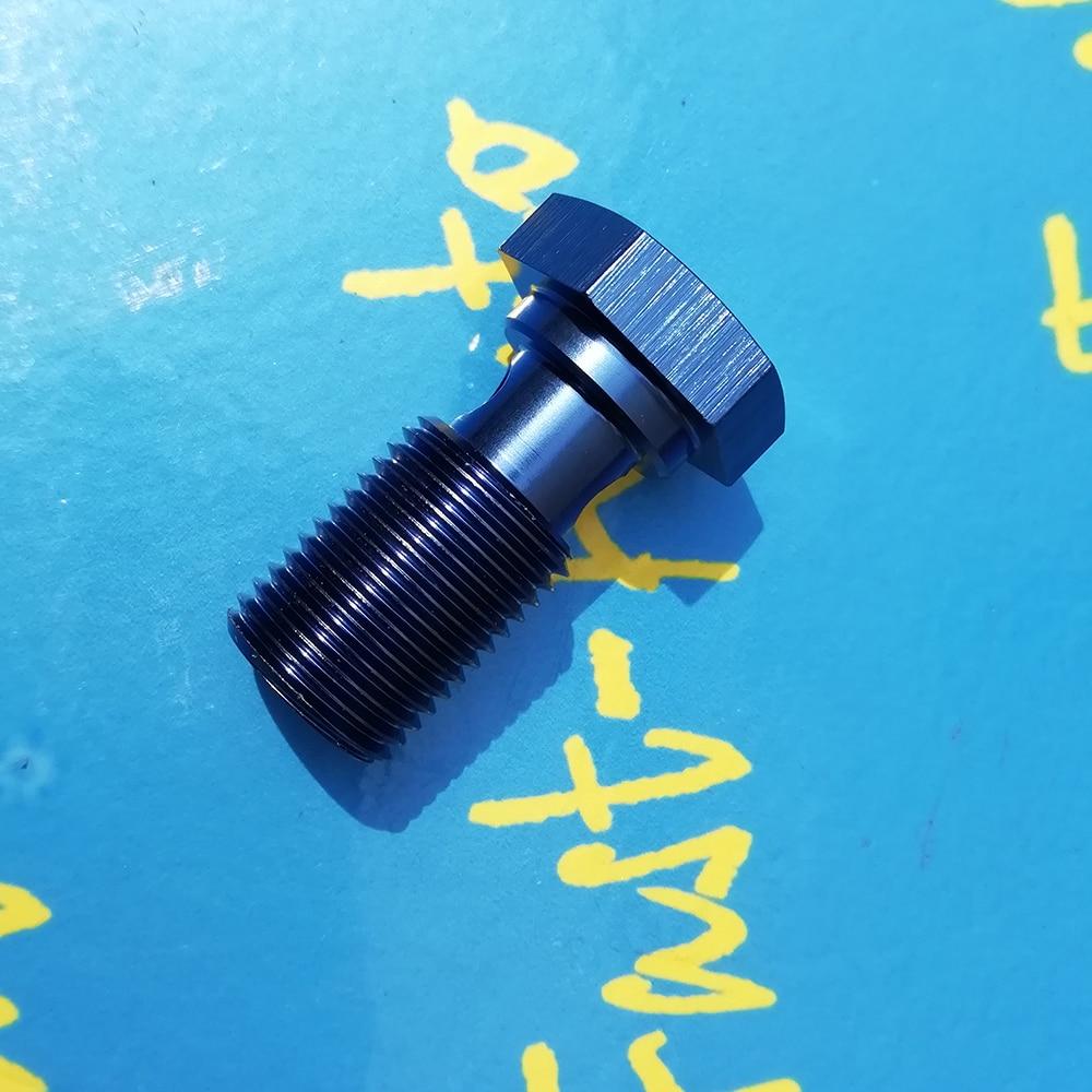 M16 p1.5 m16 * 1.5 m16 x 1.5 liga de alumínio banjo parafuso adaptador para 044 transmissão óleo refrigerador kits mangueira montagem-1