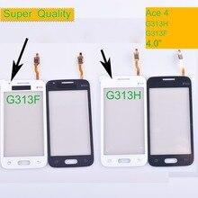 10Pcs/lot G313 For Samsung Galaxy Ace 4 Ace4 G313H G131F Touch Screen Panel Sensor Digitizer Front Glass Lens Touchscreen