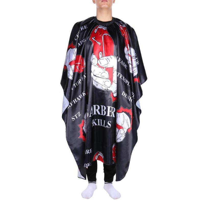 Professional Waterproof Cloth Hair Cutting Gown Cape Hairdressing Hairdresser Salon Barber ApronProfessional Waterproof Cloth Hair Cutting Gown Cape Hairdressing Hairdresser Salon Barber Apron