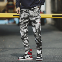 2019 Spring and summer Pure Cotton Japanese Restore Ancient Ways Camouflage Overalls Male More Pocket Leisure Pants sweatpants