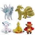 Плюшевые игрушки в стиле аниме «ледяная Алла»  «вулпикс»  «нинеталес»  плюшевые игрушки  японские куклы  рождественский подарок для детей  ...