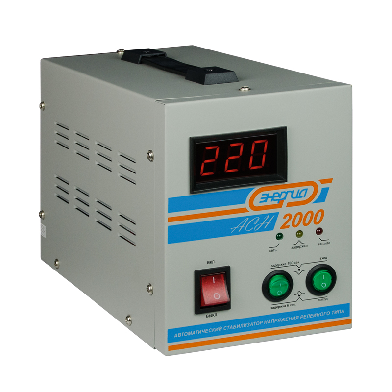 Voltage stabilizer Energy ASN-2000 voltage stabilizer energy asn 1000