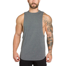 New Muscleguys Bodybuilding Clothing Mens Tank Tops Shirt Men Fitness Singlets Sleeveless Solid Cotton Muscle Vest Under