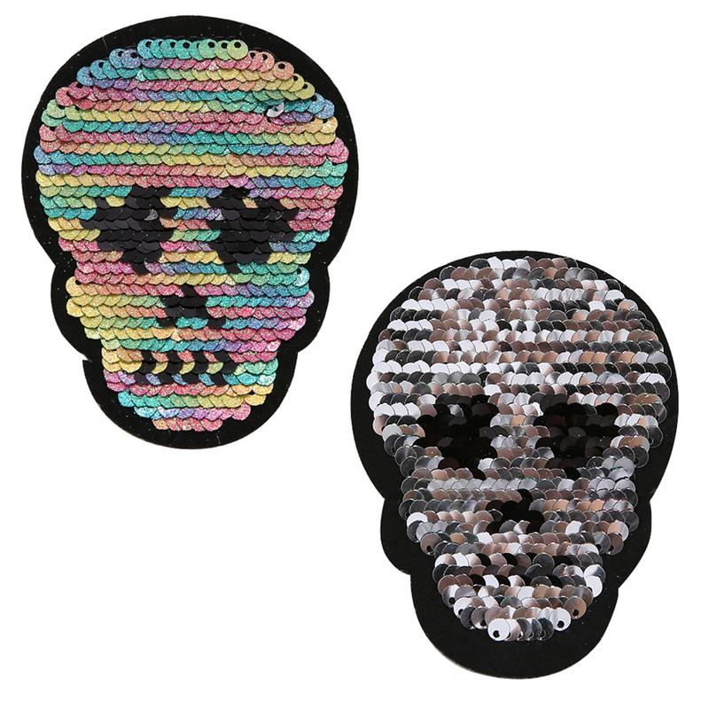 Color Film Taro On Patches For Clothing On The Breach Embroidery Applique DIY Hat Coat Dress Pants Accessories Cloth Sticker