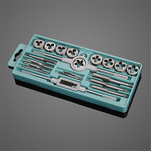 Die-Wrench-Sets Hand-Tools Metric-Plugs-Taps Screw-Thread Working Metal M3-M12 for 20pcs/Box