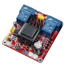 Hot TTKK 2000W Class A Power Delay Soft Start Power Protection Board With Temperature Protection And Switch Features bbv14435a01 soft start ats22c41q power drive webmaster board 200kw power trigger plate