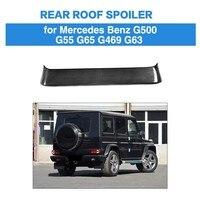 Rear Roof Window Roof Top Spoiler For Mercedes Benz G Class G350 G500 G55 G63 G469 G65 2013 - 2017 Real Carbon Fiber Wing Lip