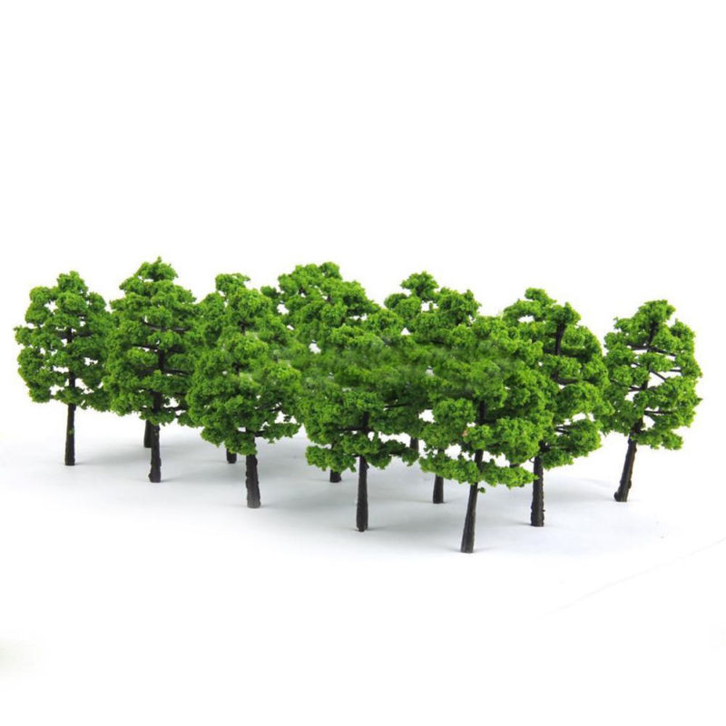 20x 7cm Model Trees For Train Railroad Diorama Wargame Park Landscape Scenery