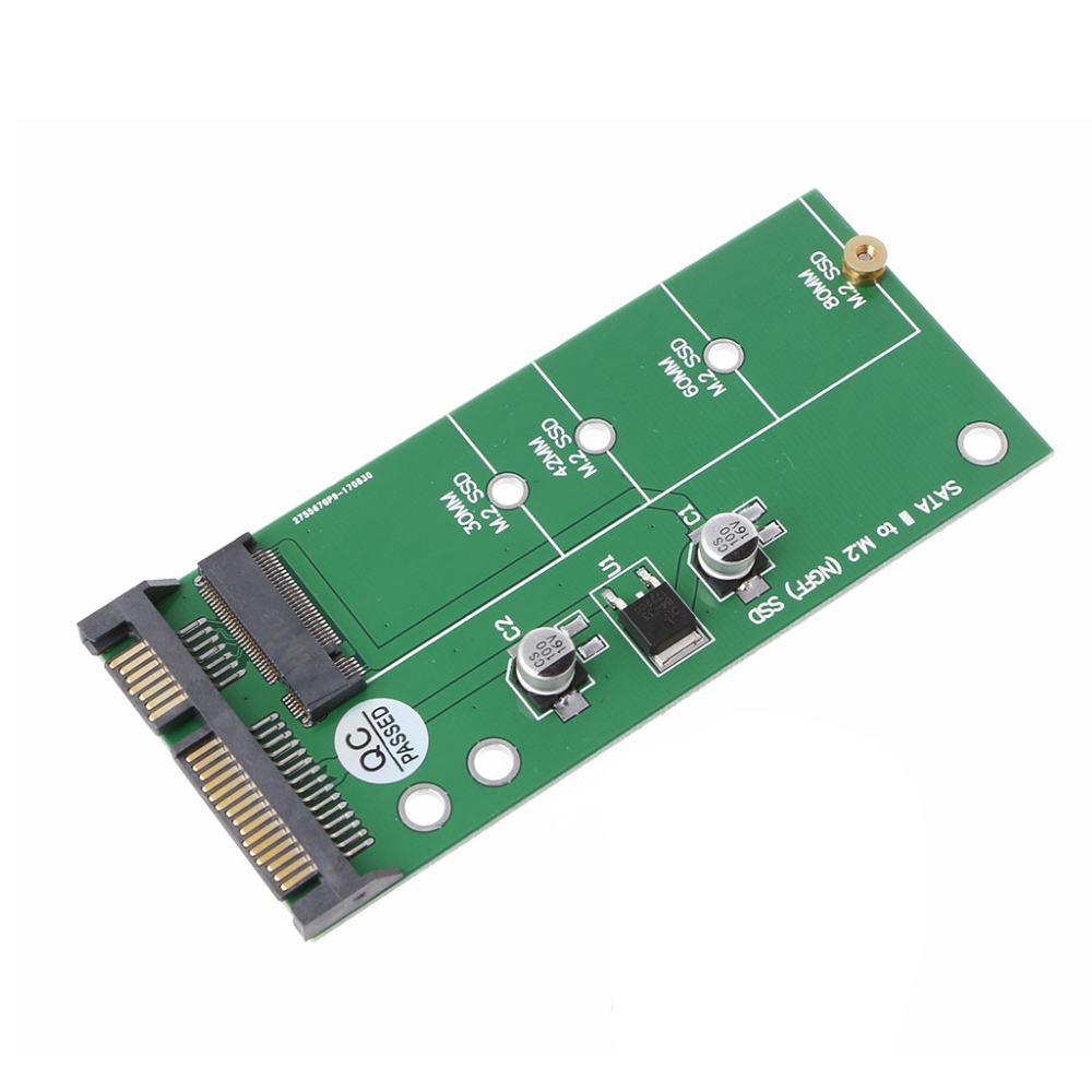 Ngff ( M2 ) Ssd To 2.5 Inch Sata Adapter M.2 Ngff Ssd To Sata3 Convert Card Adapter Card For 30/42/60/80Mm M.2 Ssd Hard Drive