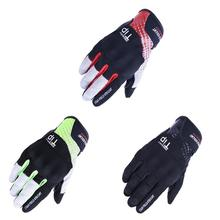 1 Pair Pack Summer Personalized Motorcycle Gloves Reflective Breathable Touchscreen Racing Full Finger Protective Cycling Matts цена 2017