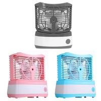 70ml Air Humidifier Mini Air Conditioner USB Water Mist Fan Cooler Summer Air Cooling Fan Portable Conditioner for Home Office