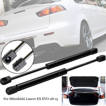 1 Pair Car Gas Shock Hood Damper Lift Support Tailgate Rear Trunk Lift Struts For For Mitsubishi Lancer EX EVO 2008-2015 Struts front hood bonnet gas struts lift support shock damper for mitsubishi lancer ex io type fortis for proton inspira 10 14 absorber