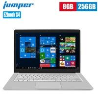 Jumper EZbook S4 Notebook 14 inch Windows 10 Intel Apollo Lake N4100 Quad Core 1.1GHz 8GB 256GB SSD PC Dual Band Laptops 4600mAh