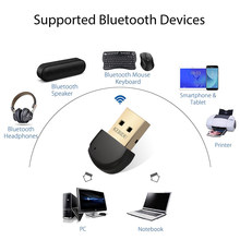 Usb Bluetooth V5.0 Transmitter Adaptor Dongle untuk Gamepad PS4 Mouse AUX Audio Bluetooth 4.0 4.2 5.0 Speaker Musik Menerima(China)