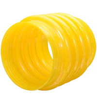 New 1Pcs Yellow Polyurethane Jumping Jack Bellows Boot 17.5cm For Wacker Rammer Compactor Tamper For Power Tools Accessories