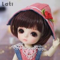 Full Set BJD Doll Lati Yellow Haru Gilly Byurl Cho Sunny Coco 1/8 YoSD Dolls Cute Girls Toy Girl Linachouchou Luts Package Set