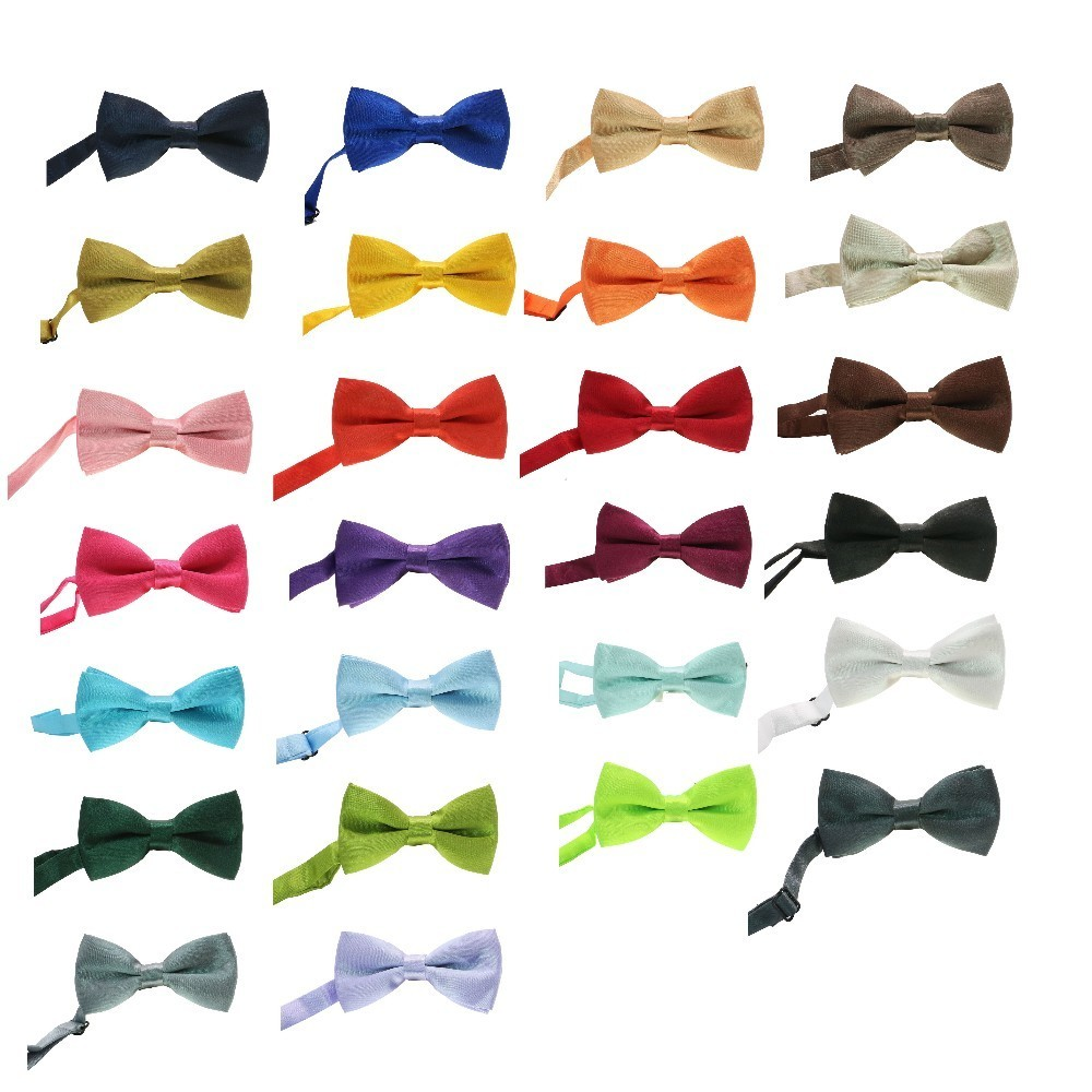 1pc Bowtie Kid Formal Necktie Boy Men's Fashion Business Wedding Bow Tie Male Dress Shirt Krawatte Gift