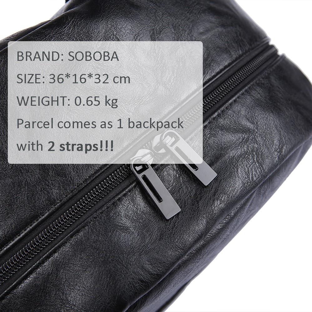 Mode maternité Nappy sac à langer pour mère noir grande capacité mode sac à couches avec 2 sangles voyage sac à dos pour bébé - 6