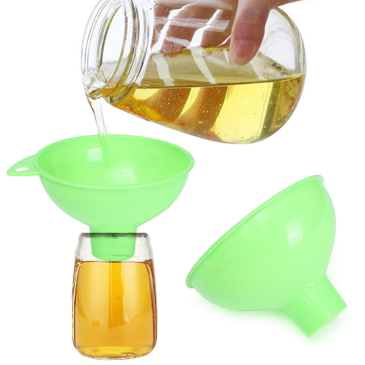 Wide Big Mouth Large Opening Jam Wine Soup Sauce Pressure Canning Funnel Home House Useful Tool Tools Part New Arrival