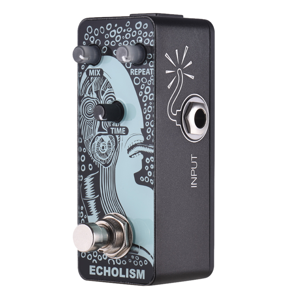 SEWS-SWIFF AP03 ECHOLISM Guitar Pedal Analog Delay Guitar Effect Pedal True Bypass Metal Shell Guitar AccessoriesSEWS-SWIFF AP03 ECHOLISM Guitar Pedal Analog Delay Guitar Effect Pedal True Bypass Metal Shell Guitar Accessories