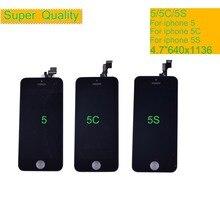 10 Stks/partij Voor Iphone 5 Se 5C 5 S Display Touch Screen Digitizer Vervanging Vergadering Voor Iphone 5 S Monitor Lcd Compleet se