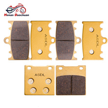 Motorcycle Front Rear Brake Pads Disk For SUZUKI GSXR 250 RK (GJ73A) RGV 250 J/K/L GSXR 400 J/RR/RAK (GK73A) GSX 400 GSXR 600 V/ стоимость