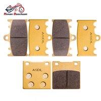 Motorcycle Front Rear Brake Pads Disk For SUZUKI GSXR 250 RK (GJ73A) RGV 250 J/K/L GSXR 400 J/RR/RAK (GK73A) GSX 400 GSXR 600 V/