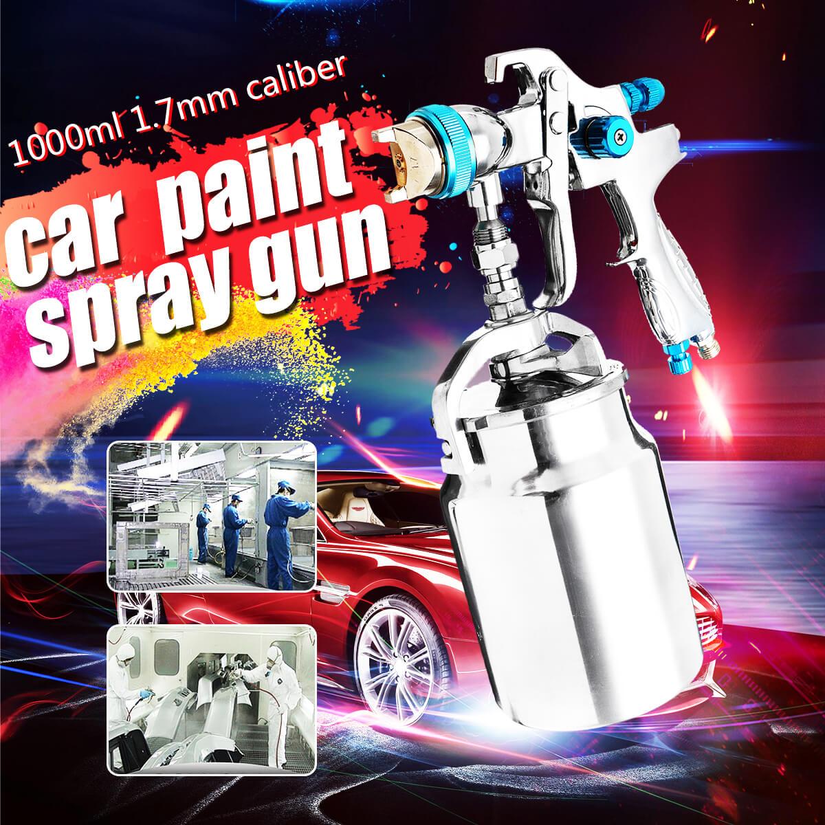 H887 1.7mm buse professionnelle gravité alimentation peinture Spray G un voiture finition manteau peinture outil de pulvérisation main manuel pulvérisation G un