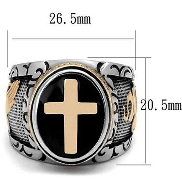Knight templar crusaders signet rings 1